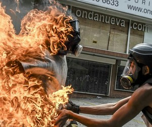 fire, fuego, and sos image