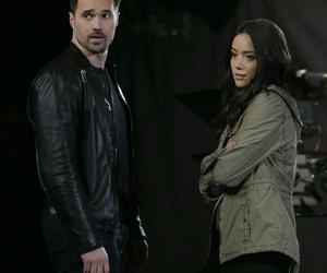 agents of shield, brett dalton, and chloe bennet image