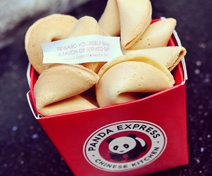 fortune cookies, yummy, and panda express image