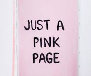 pink, page, and aesthetic image
