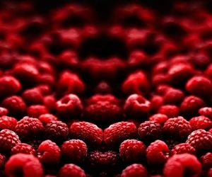 red, raspberry, and fruit image