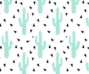 pattern and cactus image