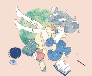 pastel, anime, and anime girl image