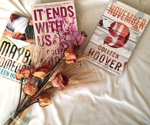 book, read, and colleen hoover image