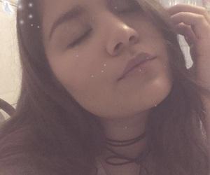 filter, sleepy, and alternative girl image