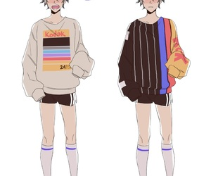 anime, shoes, and casual image