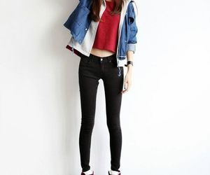 fashion, korean, and ulzzang image