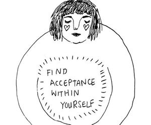 quotes, art, and acceptance image