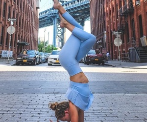yoga, body, and fitness image