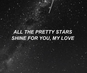 song, stars, and tumblr image