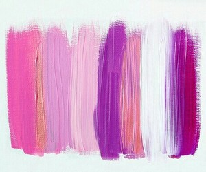 pink, paint, and colors image
