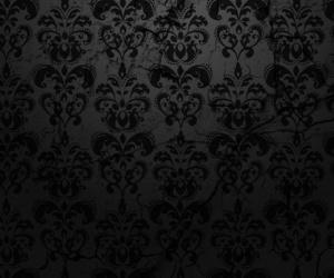 damask, wallpaper, and pattern image
