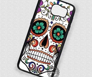 face, tatto, and phone cases image