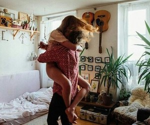 love, couple, and home image