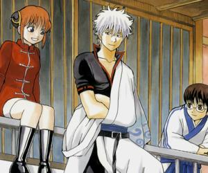 anime, gintama, and manga image
