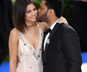 selena gomez, met gala, and the weeknd image