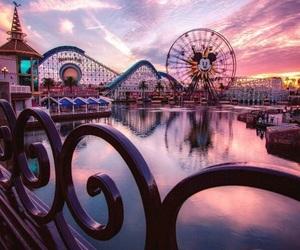sunset, theme, and purple image