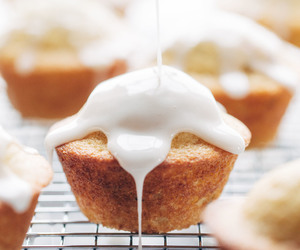 food, sweets, and muffins image