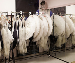 ballet, dressing room, and photography image