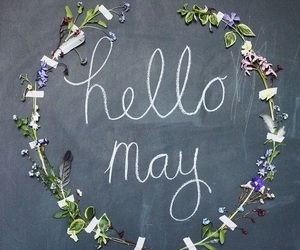 may and hello may image