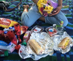 picnic and love image
