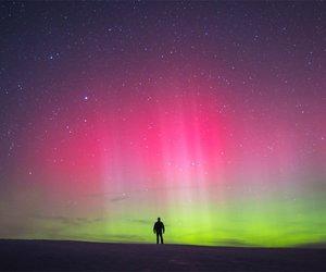 beautiful, galaxy, and light image
