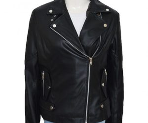women leather jackets and tv series costumes image
