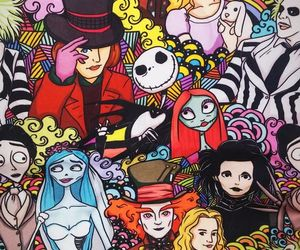 wallpaper and tim burton image