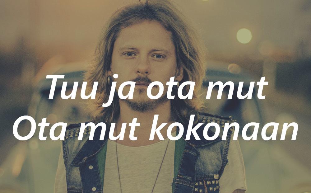 finnish, Lyrics, and jonne aaron image