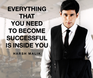 harshmalik, positivequote, and successquote image