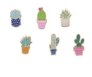 badge, cactus, and kawaii image