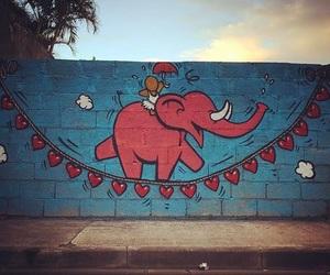 art, graffiti, and heart image