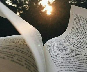 book, sun, and read image