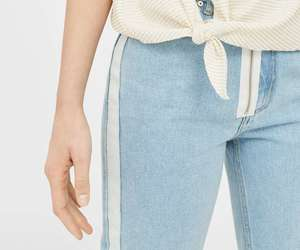 blue, casual, and jeans image