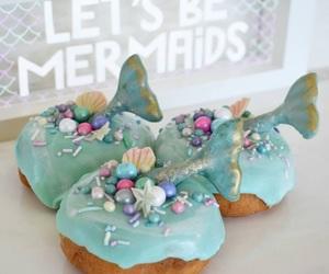 mermaid and sweet image