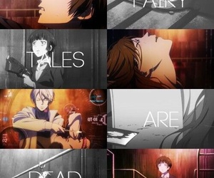 anime, psycho pass, and cry image