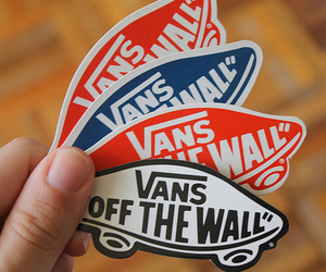 vans, vans off the wall, and skate image