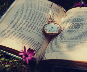book and pocket watch image