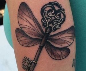 harry potter, tattoo, and Tattoos image