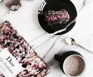 dior, coffee, and food image