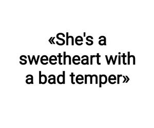 bad, quote, and sweetheart image