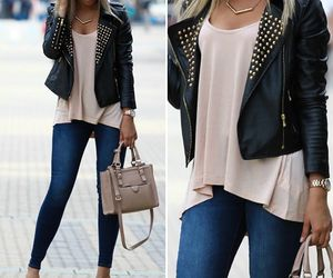 blogger, fashion, and jacket image