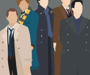 sherlock, supernatural, and coat image