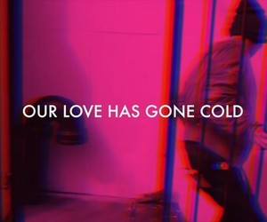 love, the 1975, and neon image