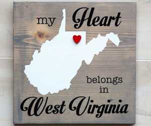 art, west virginia, and words image