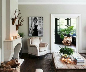 living room, home, and decoration image