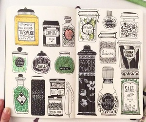 alternative, grunge, and journal image