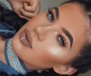 contour, make up, and brows image