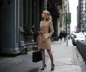 chic, outfit, and elegance image