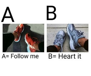 quizz, basket, and chaussures image